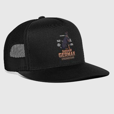 Doberman Pinscher DOBERMANS: Superior German Engineering - Trucker Cap