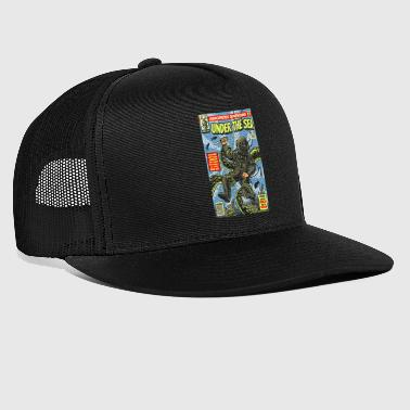 Under Water Under the Sea Comic Adventure - Trucker Cap