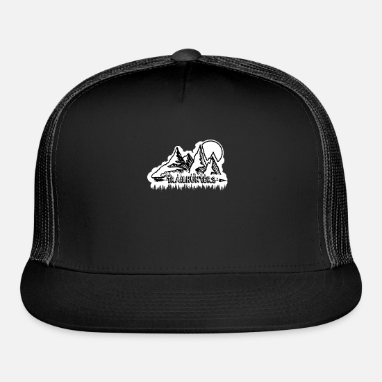 Riding Caps - Trail Hunters - Trucker Cap black/black