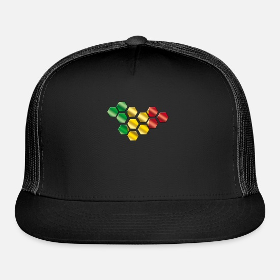 Gift Idea Caps - Mali - Trucker Cap black/black