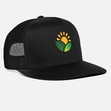 Obscure Sunrise Obscured Leaves - Trucker Cap