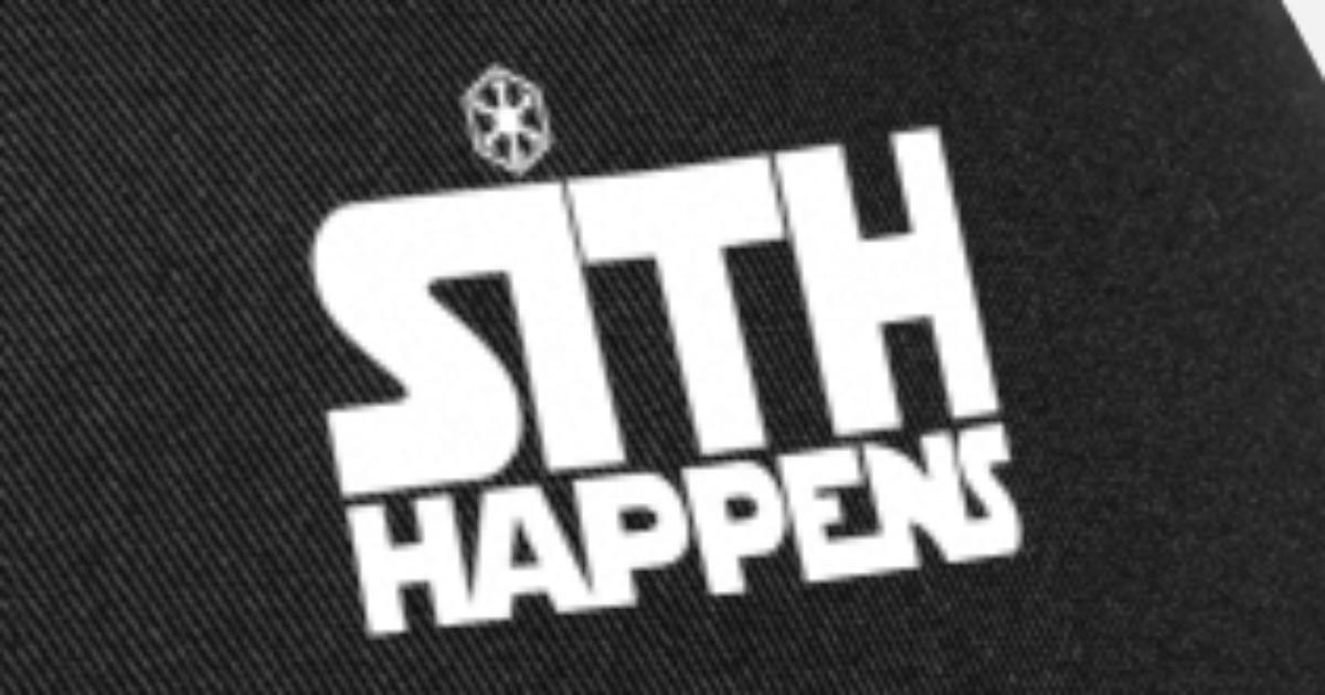 81ceadf9d6c6d Sith Happens Star Wars Trucker Cap