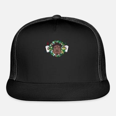 21 Savage Christmas Wreath Trucker Cap  4542069f1483