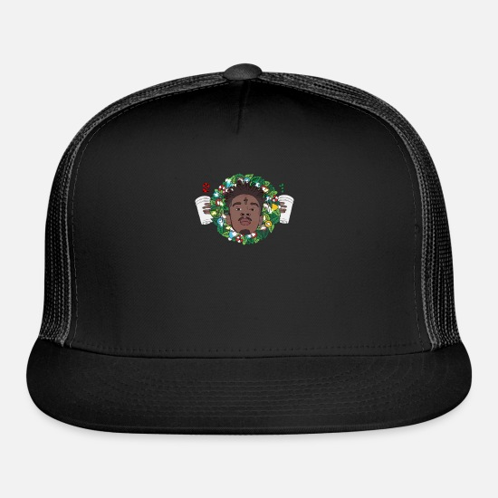21 Savage Christmas.21 Savage Christmas Wreath Trucker Cap Spreadshirt