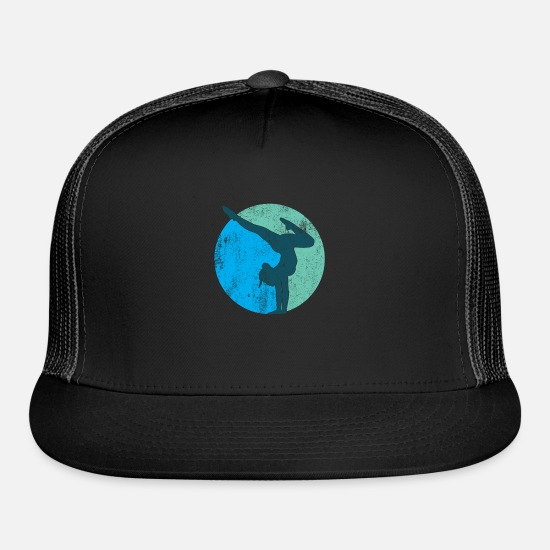 Gift Idea Caps - Gymnastic Sports Gift - Trucker Cap black/black