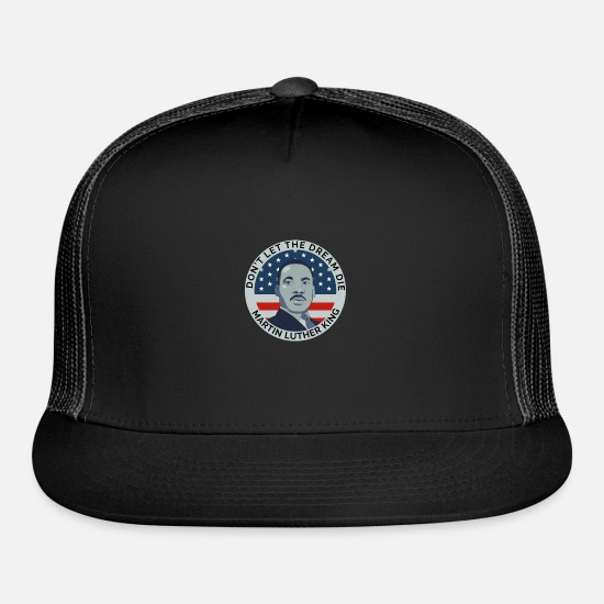 Usa Caps - Martin luther king - Trucker Cap black/black