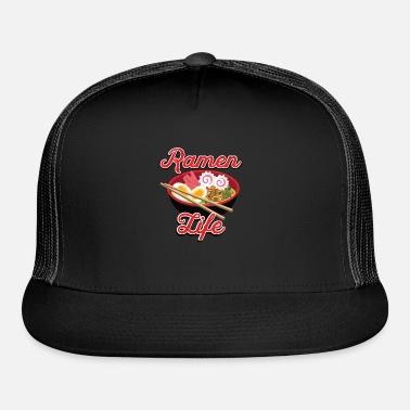 Ramen Dad Hat Embroidered Baseball Cap Ramen Noodle Bowl Chop Sticks