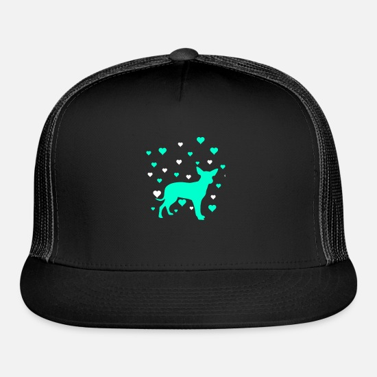 Pet Caps - Chihuahua - Trucker Cap black/black
