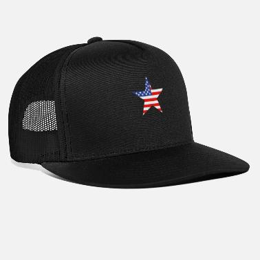 Us Flag US flag - Trucker Cap