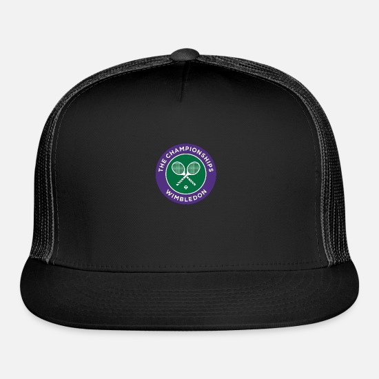 Tennis Caps - Tennis - Trucker Cap black/black
