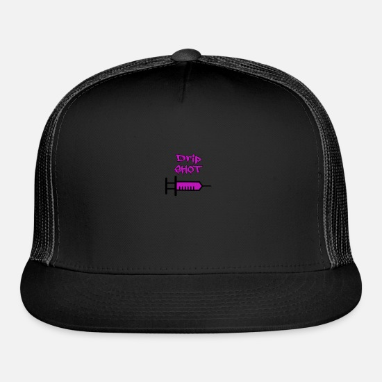 Codeine Caps - Drip Shot - Trucker Cap black/black