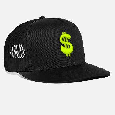 Dollar Sign Dollar Sign - Trucker Cap