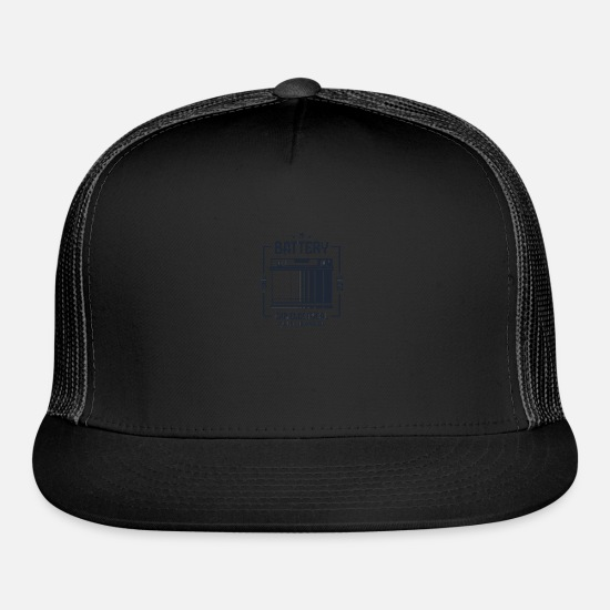 Audio Caps - battery car electronical - Trucker Cap black/black