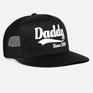 5e11512346f Fathers Day Daddy since 2019 - Trucker Cap