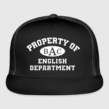 Property Of English Department - Trucker Cap