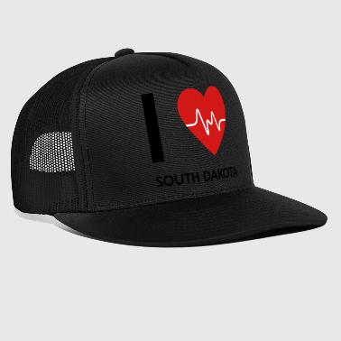 I Love South Dakota - Trucker Cap