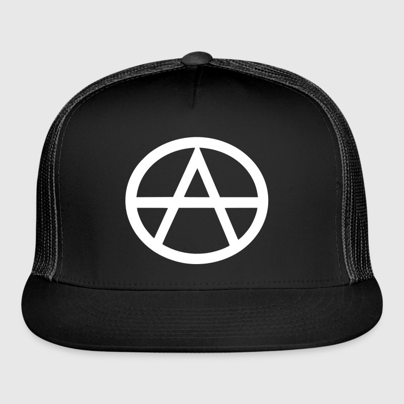 Anarchism Symbol - Trucker Cap