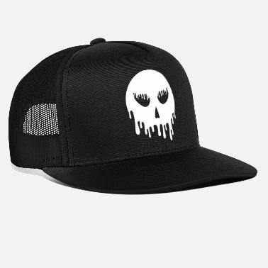 Drip Skull dripping - Trucker Cap