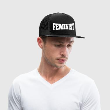 Feminist Equal Rights Political Statement - Trucker Cap