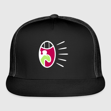 A Screaming Mouth - Trucker Cap