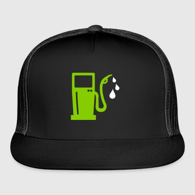 gas station - petrol pump - petrol - Trucker Cap