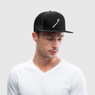 tooth brush - white - Trucker Cap