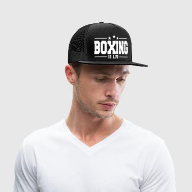 boxing is life 1 / boxer / fightclub - Trucker Cap
