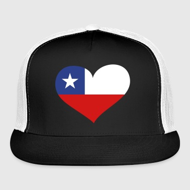 Chile Heart; Love Chile - Trucker Cap