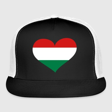Hungary Heart; Love Hungary - Trucker Cap