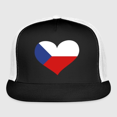 Czech Republic Heart; Love Czech Republic - Trucker Cap