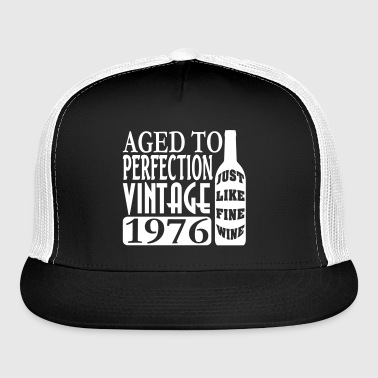 1976 Aged To Perfection - Trucker Cap