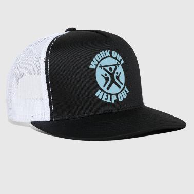 Work Out Help Out- Hat - Trucker Cap