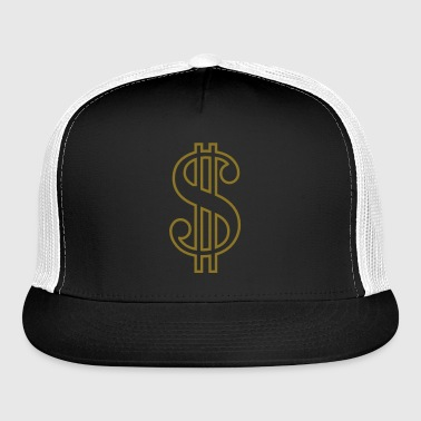 Dollar Sign - Trucker Cap