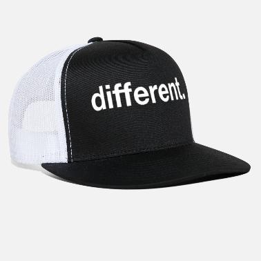 Different different - Trucker Cap