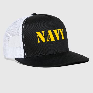 Military NAVY Military - Trucker Cap
