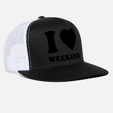i love - Trucker Cap