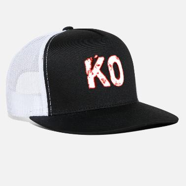 Knock Out Knock out - KO - Trucker Cap