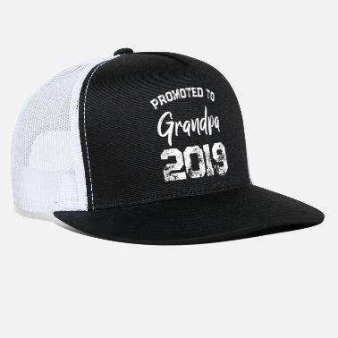 Promoted to Grandpa 2019 - Gift idea for Grandpa - Trucker Cap d874556a11e4