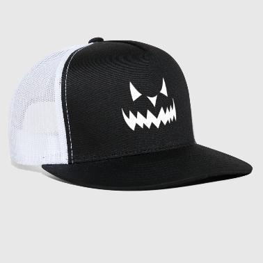 Sour Halloween Monster Face - Trucker Cap