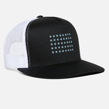 Rectangle Star pattern in rectangle - Trucker Cap