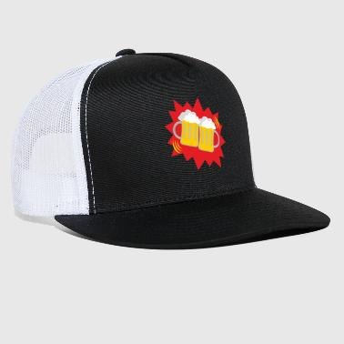 Mass Effect Oktoberfest Cheers Mass Bier Beer - Trucker Cap