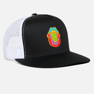 Tongue Psychedelic Tongue - Trucker Cap