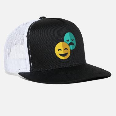 Comedy Comedy and Tragedy - Trucker Cap