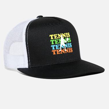 Tennis with colored font - Trucker Cap
