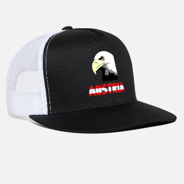 Innsbruck Austria with eagle - Trucker Cap