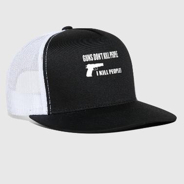 Rifle GUN RIFLE - Trucker Cap