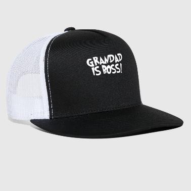 Grandad GRANDAD IS BOSS - Trucker Cap