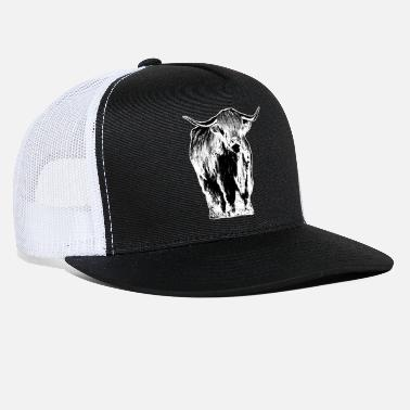Highland Highland cattle Scotland cow - Trucker Cap