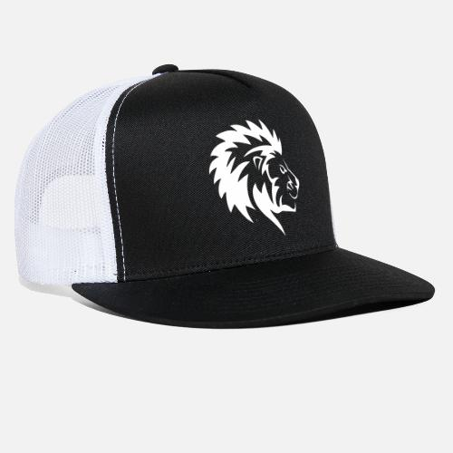 d41f2d0b36ee0 Angry Lion Trucker Cap