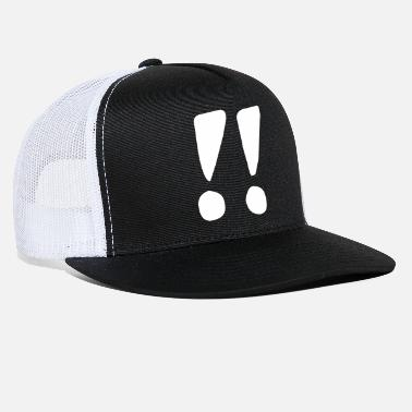 Exclamation Mark Two exclamation marks - Trucker Cap